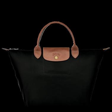 Le Pliage Original porté main M coloris noir par Longchamp