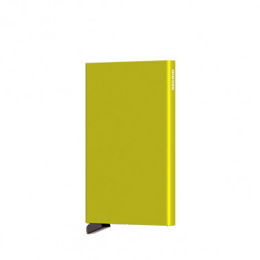 Secrid cardprotector aluminium coloris Lime