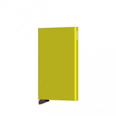 Secrid cardprotector aluminium coloris Lime