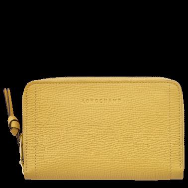 Portefeuille Mailbox Jaune par Longchamp